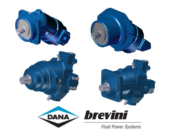 NAHI - Dana Brevini Bent Axis Piston Motors Fixed & Variable
