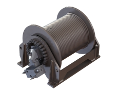O&K Winch Gearbox Winch Drive Package