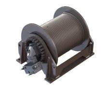 O&K Winch Gearbox Winch Drive Package