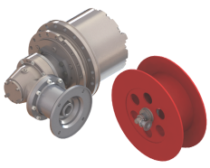 O&K Drive Cable Winch Drive Application