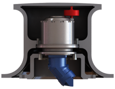 O&k Drive Capstan Winch Application