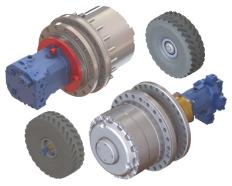 O&k Drive Wheel Application