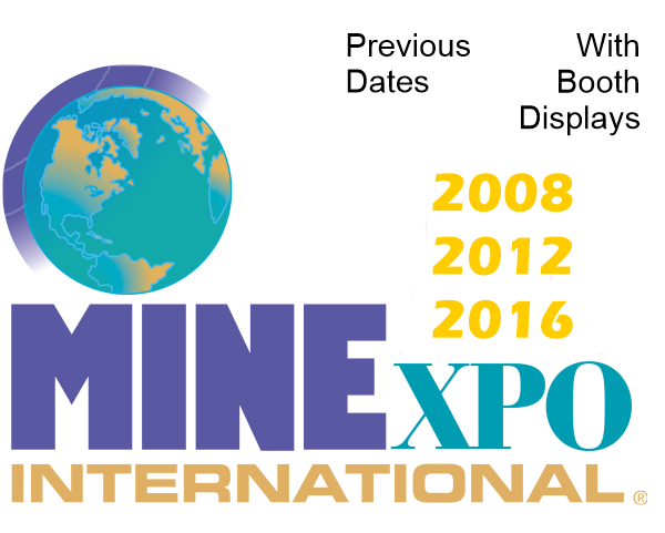 NAHI - MINExpo Previous Shows With Booth Displays