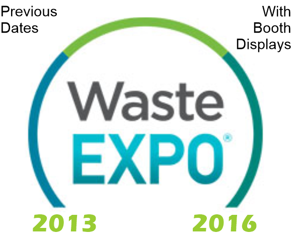 NAHI - Waste Expo Previous Shows With Booth Displays