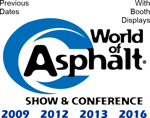 NAHI - World Of Asphalt Previous Shows With Booth Displays